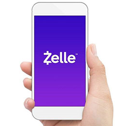 Send funds using Zelle